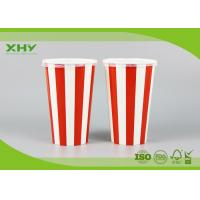 500ml 16oz Milkshake Cold Drink Take Away Cold Paper Cups with Lids Manufactures