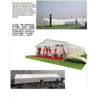 Quality Exhibition Outdoor Event Tent 3m - 30m Width With PVC Walls / Glass Wall for sale