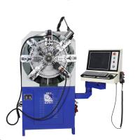 Buy cheap Wire Diameter 0.3 - 2.5mm Twelve Axes Cam-Less CNC Spring Making Machine from wholesalers