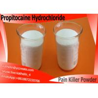 China Powder Propitocaine Hydrochloride Local Anesthetic Drugs For Pain Killer , CAS 1786-81-8 on sale