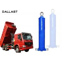 Double Acting  Dump Trailer Hydraulic Cylinder Telescopic Lifting Tipper Manufactures