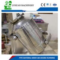 Rotation Ptfe Static Mixer Three Dimensional Compound Movement Uniform State Manufactures