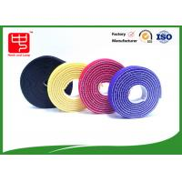 Plastic hook 2 sided hook and loop tape / back to back Strapping  Hook and Loop Cable Tie for sale