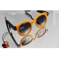 Orange / Black Cool DSP 30FPS Bluetooth Smart Glasses With MIC-4015 Manufactures