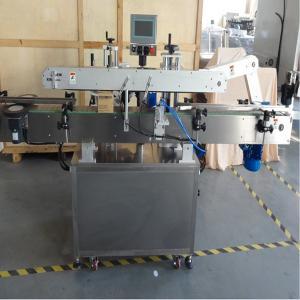 Aluminum virgin coconut oil bottle with dropper labeling machine Manufactures
