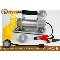 China 150Psi Metal 40mm Cylinder Car Small Portable Air Compressor 12V 72L / Min Air Flow on sale