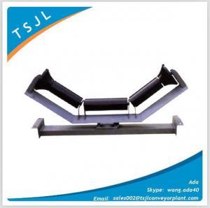 Waterproof dust proof offset trough idler set Manufactures