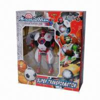 Football Transformer Toy, Can be Transformed into Robot or Football Manufactures