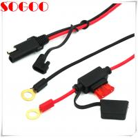 Auto Battery Cable Extension , 12v Battery Cable With Sae 2 Pin Connector Plug Manufactures