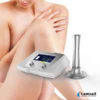 China Powerful Acoustic Shock Wave Cellulite Reduce Therapy Equipment With Ultrasonic Cavitation CE on sale