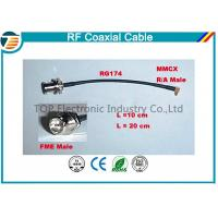 High Performance Male Female Rf Coaxial Cable RG174 With MMCX Connector Series Manufactures