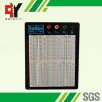 Laboratory Equipment Soldering Breadboard ABS Plastic Black Alum Plate Manufactures
