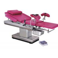 Quality Stainless Steel Frame Gynecology Exam Chair , Gynae Examination Table Adjusted Height for sale