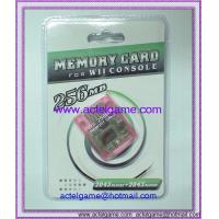 Memory card for Wii Console 256MB 128MB 64MB 32MB 16MB 8MB Nintendo Wii game accessory Nintendo Wii game accessory Manufactures