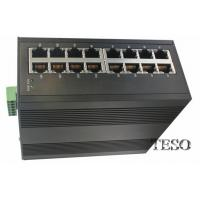 24 VDC Optical Ethernet Switch DIN Rail High Speed With FCC Part 15