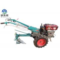 Mini Hand Operated Walk Behind Tractor Ploughing Walking Tractor Manufactures