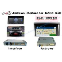 INFINITI Q50 Android Auto Interface With WIFI / Bluetooth 3G / Rearview Camera Manufactures