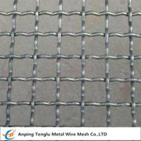 China Intermediate Crimped Wire Mesh|SS304 Intercrimp Woven Mesh For Construction on sale