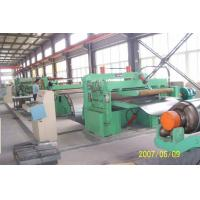 Customized Galvanised Steel Coil Slitting Machine With Uncoiler / Recoiler Manufactures