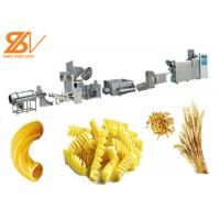 High Efficiency Macaroni Pasta Production Line Variety Pasta Shapes Manufactures