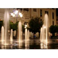 Large Outdoor Dry Ground Floor Water Fountains With Customized Music Dancing Manufactures