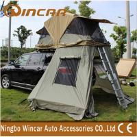 4x4 Waterproof Car roof top campers , 260G Ripstop Canvas Auto Roof Tent