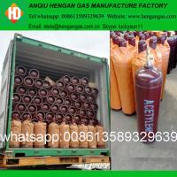 China Dissolved acetylene gas price for sale for sale