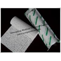 China Lightweight Gypsum Plaster Cast And Splint Bandage Cloth High Intensity Good Plasticity For Bone Cure on sale