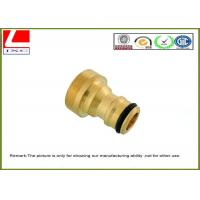High Speed Machining brass machined parts Manufactures