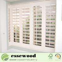 Movable Wooden Shutter Windows Interior Plantation Shutters Manufactures