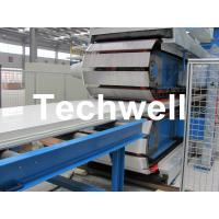 Polyurethane / PU Sandwich Panel Machine For 30 - 200mm Thickness, 1000mm Width Panels Manufactures