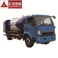 High Safety Standard 4x2 Chassis LPG Dispenser Truck 3700mm Wheel Base Manufactures