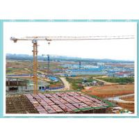 China Self Erecting Construction Tower Crane , Moldel ZT5610 Topless Tower Crane On Rails on sale