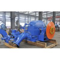 China Small Turbine Generator Small Pelton Turbine For Hydro Power Station Switchyard on sale