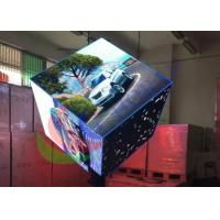 Indoor Digital Visual Creative LED Display Custom Cube Shape Pillar Support Manufactures