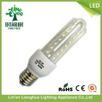 E27 LED Corn Light Bulb 9W 3U Dia 9mm High Lumen 50Hz / 60Hz Manufactures