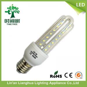 E27 LED Corn Light Bulb 9W 3U Dia 9mm High Lumen 50Hz / 60Hz Manufactures