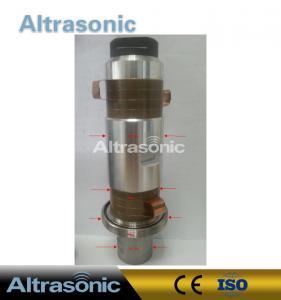 China High Power Piezoelectric Ultrasonic Welding Transducer 6000w 20Khz 8pcs Ceramics on sale