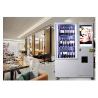 Automatic Combo Juice Beer Wine Vending Machine For Drink In Supermarket Manufactures