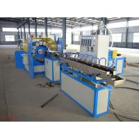 China Plastic Extrusion Line 90kg/H For PVC Fiber Hose / Snake Skin Pipe on sale