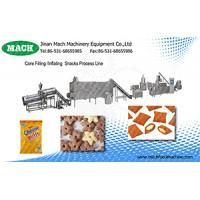 Puffed snack food extruder machine supplier Manufactures