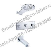 Quality Two Function Concealed Bath Shower Faucet, Wall mounted bathroom embedded for sale