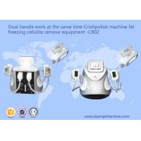 Dual Handle Fat Freezing Cellulite Weight Loss Machines CR02 110v / 220v Manufactures