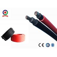 Quality Chemicals Resistant Single Core Solar Cable , XLPE Insulation Solar DC Cable 10mm2 for sale