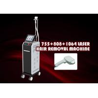 China 808nm Diode Laser Hair Removal Machine Vertical Three Wavelength on sale