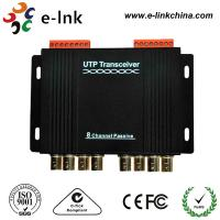 8 Channel Passive CCTV UTP Video Balun Transceiver Differential Signal Transmission Manufactures