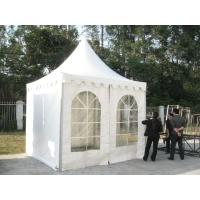 Quality White PVC Outdoor Exhibition Tent , Heat Resistant Marquee Party Tent UV for sale