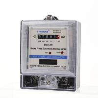 China Anti Fire Single Phase Electric Meter , Long Life Single Phase Digital Power Meter on sale