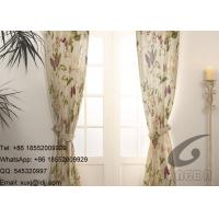 Quality Butterfly Garden Transfer Printing Fabric for Sofa Cover and  Panel Curtains for sale