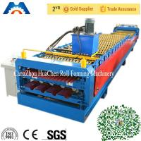 China IBR Sheet Corrugated Roll Forming Equipment Roller Forming Machine PLC Control on sale
